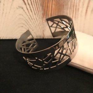Lia Sophia - Silver Cuff Bracelet